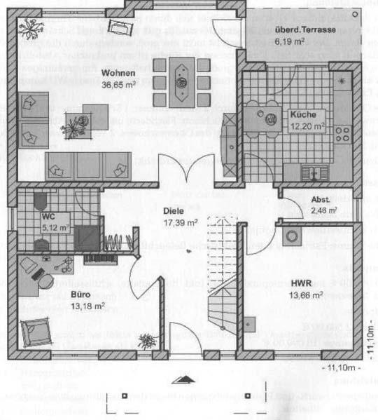 Grundriss: Erdgeschoss42