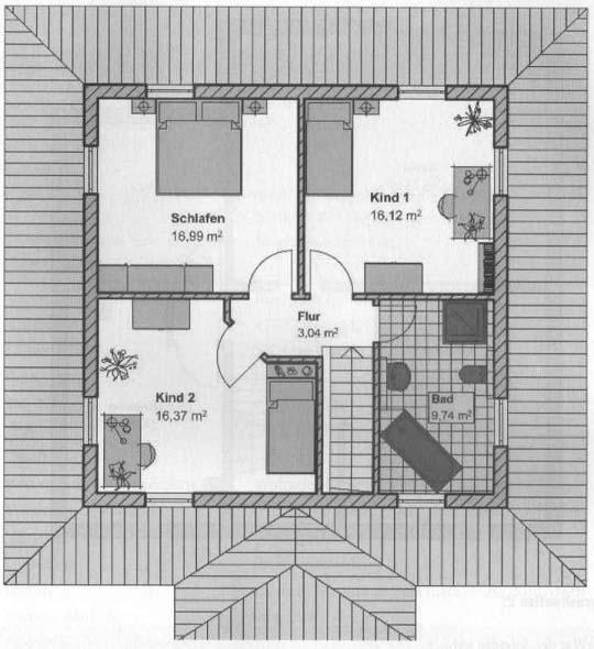 Grundriss: Obergeschoss43