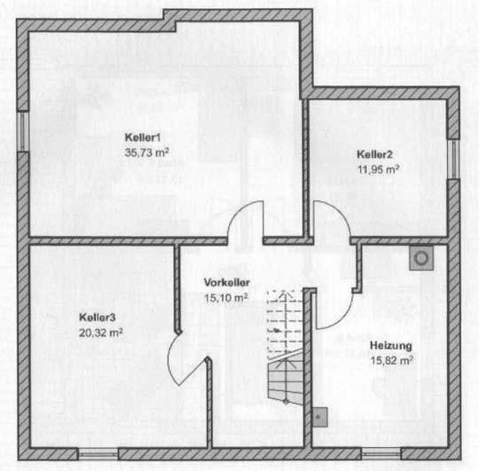 Grundriss: Kellergeschoss44