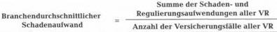Beitragsregulierung und Beitragsangleichung – Haftpflichtversicherung56