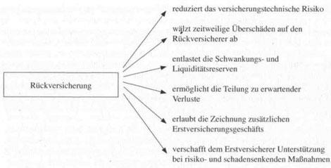 Grundbegriffe der Rückversicherung - detailliertere Information15