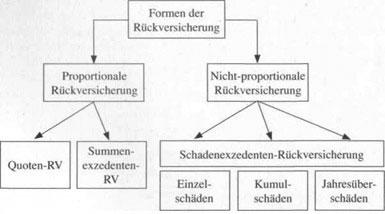 Formen der Rückversicherung - detailliertere Information17