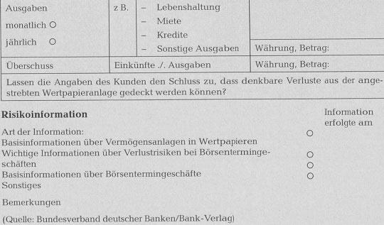 Rechtliche Aspekte der Geldanlageberatung - detailliertere Information93