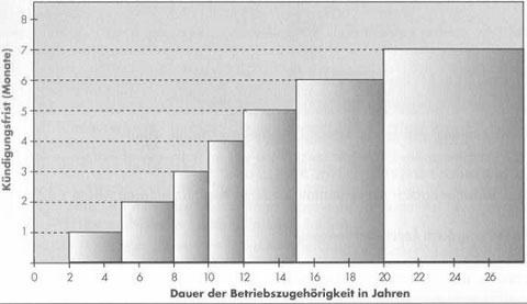 Individual- und Kollektivarbeitsrecht in Deutschland - detailliertere Information 6